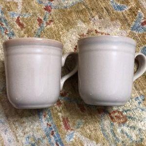 Set of 2 Vintage Noritake Sunset Mesa Coffee Mugs